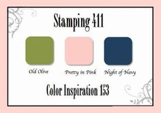 Stamping 411: Color Inspiration
