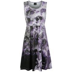 33,99e koko L Goth Flowers - Lyhyt mekko - Liisa Ihmemaassa