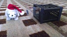 Barbie Doll-Dog Crate