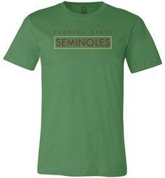 NCAA Florida State University Seminoles FSU Unisex Graphic Tee - 2315FSU-Z7