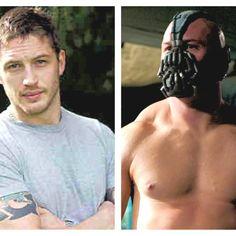 Tom Hardy as Bane= Awesomeness!