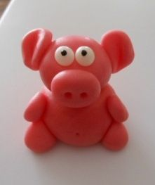 Pig Cake Toppers