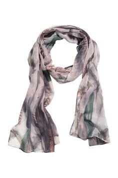 Eşarfă cu imprimeu | H&M