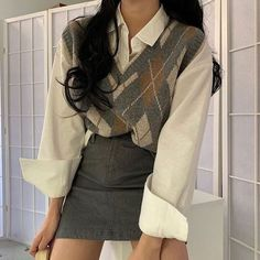 Korean Outfits, Mode Outfits, Korean Winter Outfits, Winter Party Outfits, 6th Form Outfits, Fall Outfits, Vegas Outfits, Outfit Winter, Aesthetic Fashion