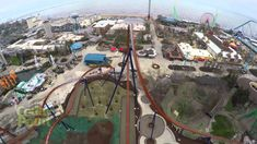 The World?s Tallest and Fastest Dive Coaster
