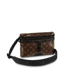 b188d6aee1713 Louis Vuitton Monogram Glaze Messenger PM M43895
