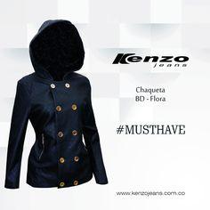 No dejes que el clima arruine tu outfit, lleva una chaqueta que te proteja del clima y te haga lucir un look #KenzoJeans  Conoce más en www.kenzojeans.com.co