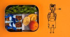 Mueslirepen, lekker erbij: edamame boontjes en gedroogd fruit #gezondelunchtrommel #yourtips #goodfood