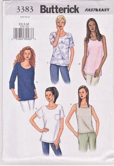 Easy Sewing Patterns, Mccalls Patterns, Clothing Patterns, Sewing Ideas, Sewing Projects, Dress Patterns, Sewing Tips, Vintage Patterns, Kwik Sew