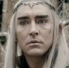 Thranduil shocked after seeing his dead soldiers