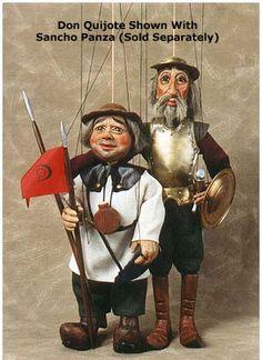 Don Quixote Marionette / Rici Czech Marionettes