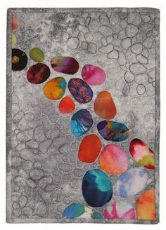 Sara Kelly - Meditation Path   art quilt   SAQA