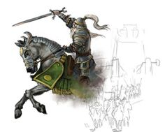 Theoden charges by Raven Mimura   ravenmimura.com