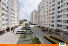 Paisagismo do Riverside. Condomínio fechado de apartamentos localizado em Rio de Janeiro / SP.