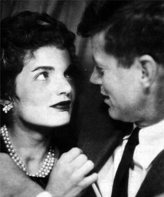Jackie and Jack Kennedy