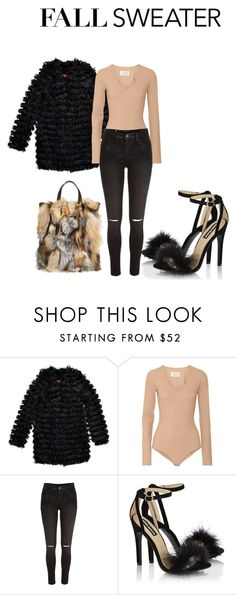 """""""Untitled #94"""" by aantunes921 on Polyvore featuring Boohoo, Maison Margiela, River Island, Lipsy and Michael Kors"""