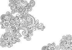 Floral Elements (3) - Doodle is Art