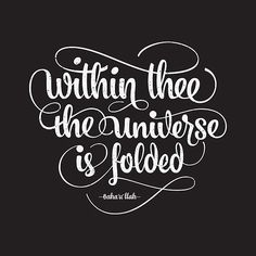 Within thee the universe is folded by BahaiBlog