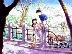 Detective Conan/Ran and Shinichi Detective Conan Shinichi, Manga Detective Conan, Ran And Shinichi, Kudo Shinichi, Ouran Host Club, Happy Tree Friends, Magic Kaito, Sherlock Holmes, Fangirl