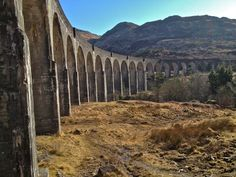 Glenfinnan Viaduct Where Harry Potter Train goes on  -Student's blog about studying abroad in Scotland