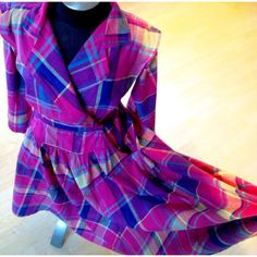 Vintage Joan Harper Plaid Dress 1980s by BarbeeVintage on Etsy