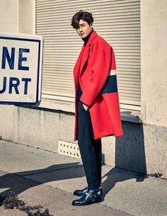 Park Hyung Sik for Elle magazine Park Hyung Sik, Song Joong, Joong Ki, The Heirs, Strong Girls, Strong Women, Asian Actors, Korean Actors, Baekhyun