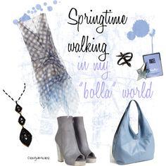 """Springtime walking"" by furettina on Polyvore"