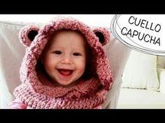 Cuello con Capucha de Osito a Crochet - TODAS LAS TALLAS (English Subtitles), My Crafts and DIY