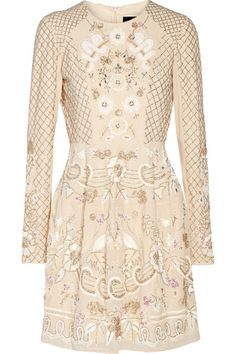 Cream chiffon Concealed zip fastening along back  100% polyester  Dry cleanLarge to size. See Size & Fit notes.