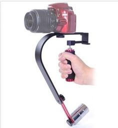 Professional Video Steadicam Hand-held Video Stabilizer+ phone holder clip for iphone DSLR Camera Camcorders DV Gopro hero3 4