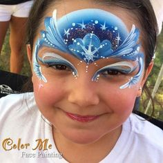 Frozen Face Painting - Color Me Face Painting - Vanessa Mendoza