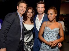 Star Tracks: Wednesday, March 16, 2016 | NO SCANDAL HERE | Kerry Washington, Tony Goldwyn, Bellamy Young and Scott Foley head to PaleyFest, which honored the group's TV series, Scandal, on Tuesday in Beverly Hills. Scandal Quotes, Glee Quotes, Scandal Abc, Olivia And Fitz, Scott Foley, Arrow Tv Shows, Tony Goldwyn, Nia Long, Olivia Pope