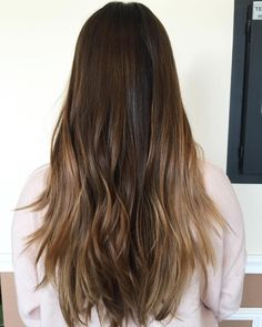 51 brunette balayage for long layered hair