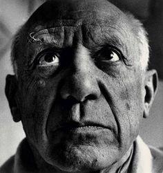 Pablo Picasso, April 1958 / photo by Richard Avedon / via Christie's