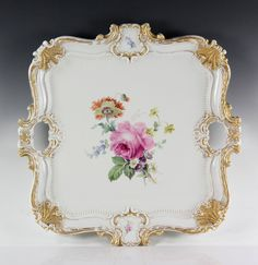 Rare Meissen Serving Tray.