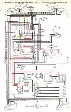 free auto wiring diagram 1971 vw beetle and super beetle wiring rh pinterest com 1972 VW Fuse Diagram 1972 VW Fuse Diagram