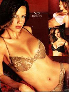 Adriana Lima - Victoria's Secret Catalog Christmas Issue 2001 with ( Gisele & Alessandra )