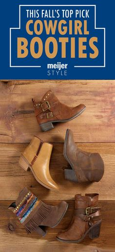 Love western booties but don't know what to wear with them? Check out our top three must-have boot styles and get major style inspiration from @andreakerbuski @ninarand and @candacemread #MeijerStyle