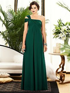 Dessy Collection Style 2881 http://www.dessy.com/dresses/bridesmaid/2881/ in Hunter Green