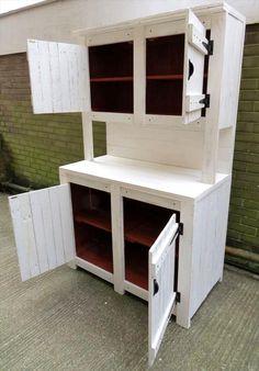 Pallet #Kitchen Cabinets / Hutch   99 #Pallets