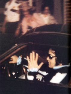 Last known photo taken of Elvis as he enters Graceland in his Stutz Blackhawk around 12:30 a.m. 8/16/1977 after dentist visit. Thru early morning of the 16th he takes care of last minute tour details and relaxes. He is to fly to Portland, ME that p.m. for a show on 17th, then continue the tour. He goes to his suite at Graceland around 7 AM to rest for a PM flight. By late morning, Elvis is dead of heart failure. It is announced by mid-afternoon. Within hours the shock registers around the…