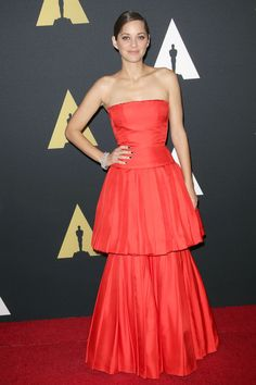 Marion Cotillard wore a Dior Couture autumn/winter 2013 gown - Governors Awards, LA – November 8 2014