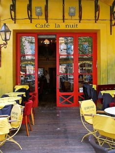 Arles Cafe (where the Van Gogh cafe painting was done)