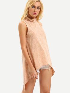 Shop Wrap Back Slub T-shirt online. SheIn offers Wrap Back Slub T-shirt & more to fit your fashionable needs.