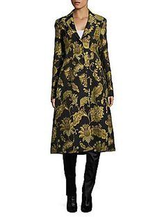 db89d8f4b868 Derek Lam - Printed Tailored Notch Coat