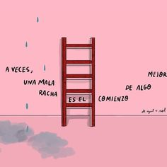 A veces la mala racha es mejor 👏 C Text Quotes, Quote Posters, Inspirational Quotes, Neon Signs, Instagram, Books, Life, Style, Baddies