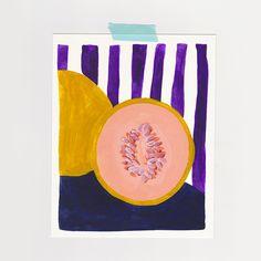 Léa Maupetit - Purple love | Melon