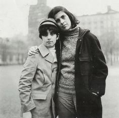 Diane Arbus: Susan Sontag and her son David (July 1965)