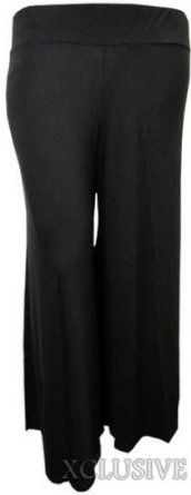 Womens Plus Size Flared Wide Leg Parallel Bottom Pants Palazzo Trousers ($29.99) - The pants are so super flattering and COMFY! - They were not as dressy as I expected and the material was very flimsy, I was looking for a darker blue. - My words of advice, order a size or two smaller than your regular size and they should work fine for you. http://www.amazon.com/exec/obidos/ASIN/B00CS5TY9I/electronicfro-20/ASIN/B00CS5TY9I