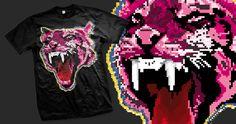Pixelated Tiger
